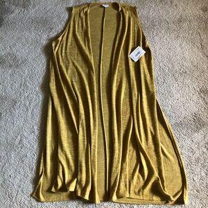 Lularoe Joy Vest NWT size XL
